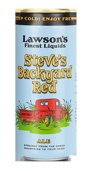 Steve's Backyard Red