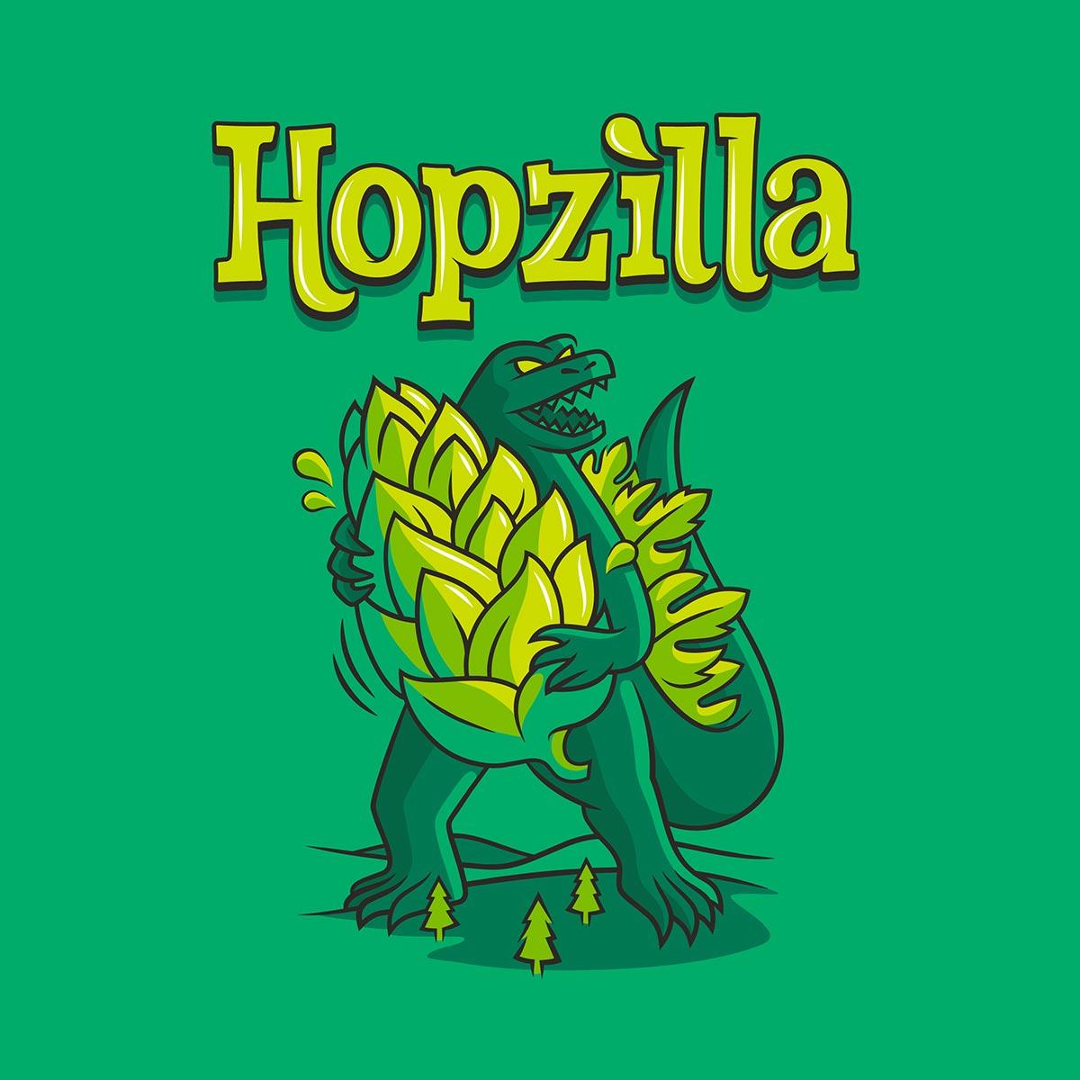 Hopzilla - Double IPA